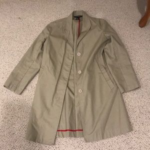 Club Monaco Trench Coat - Women's Small